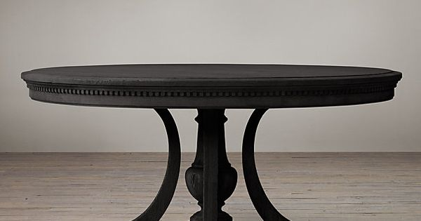 St James Round Dining Table from Restoration Hardware  : 738af9b0489977effb02fae21d6d4483 from www.pinterest.com size 600 x 315 jpeg 19kB