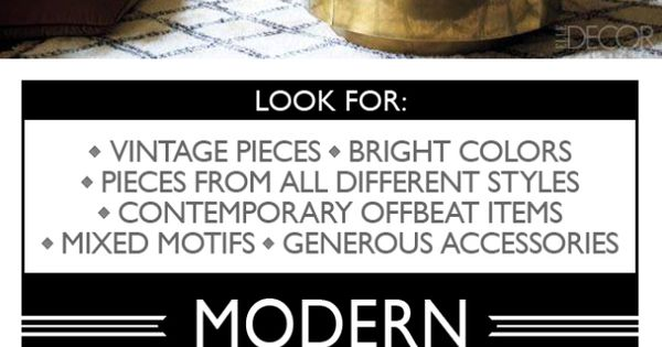the ultimate infographic for understanding interior design