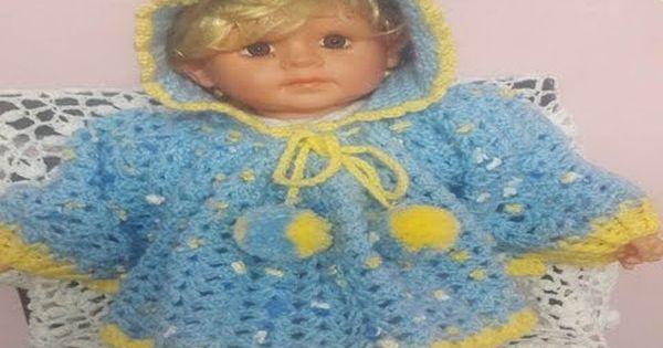 تعليم الكروشيه شال كروشيه بونشو كروشيه بأى مقاس للأطفال How To Make A Crocheted Poncho Children Youtube Crochet Baby Fashion Crochet
