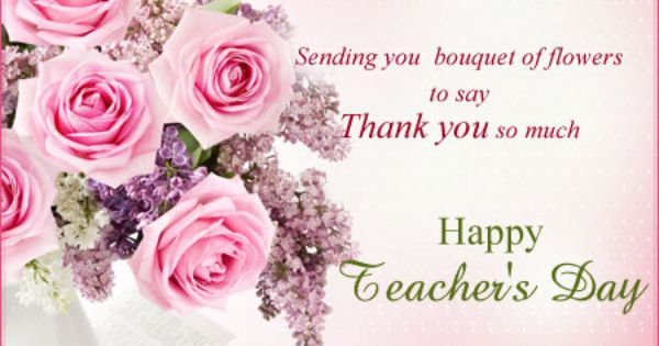Dgreetings Teachers Day Thank You Cards Happy Teachers Day Card Happy Teachers Day Teachers Day Speech