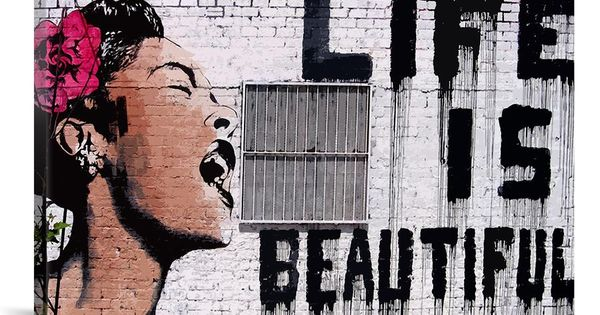 Banksy Life Is Beautiful Billie H.