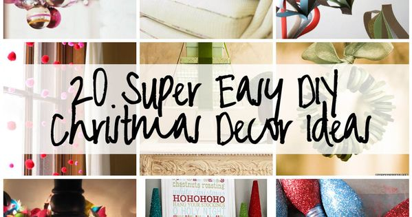 CHRISTMAS DIY DECOR IDEAS