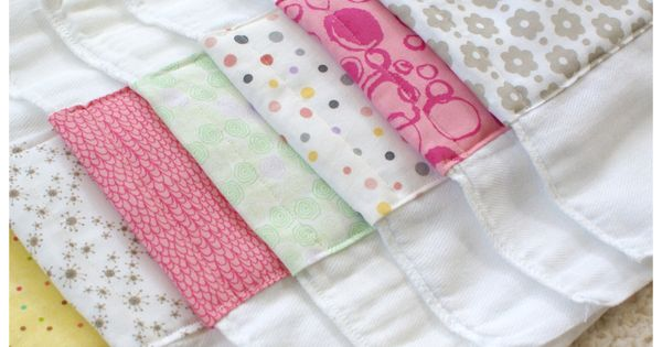 Burp cloth tutorial. With my friends having babies left and right, you