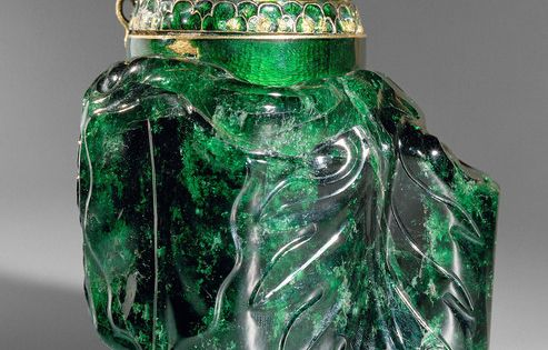 EMERALD VESSEL This is the largest cut emerald in the world. It