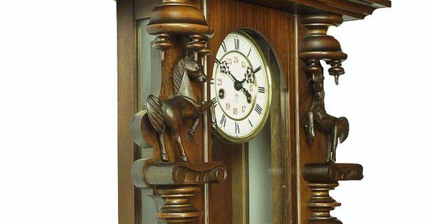 Rare Gorgeous Antique Gustav Becker Wall Clock At 1900 2