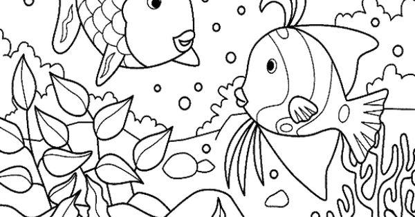 Mewarnai Gambar Ikan Yang Bagus | colour | Pinterest