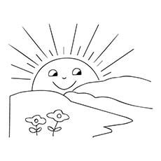 Sun Coloring Pages Free Printables Momjunction Sun Coloring Pages Coloring Pages Color