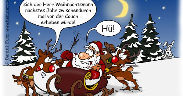 nikolaus lustige bilder weihnachten cartoon couchpotatoe. Black Bedroom Furniture Sets. Home Design Ideas