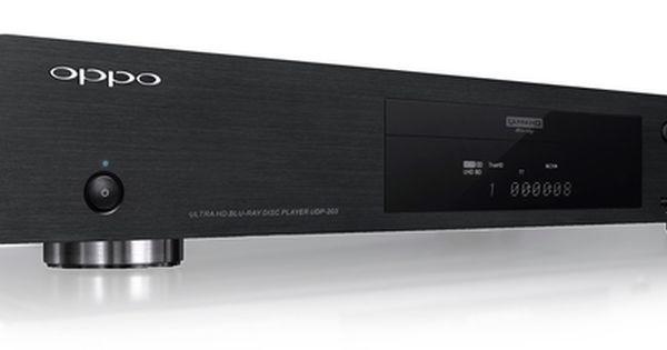 Oppo Udp 203 Digital 4k Ultra Hd Blu Ray Player Blu Ray Player Blu Ray Discs Audio Design