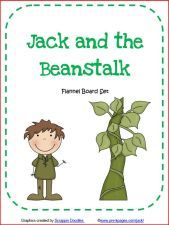 Jack And The Beanstalk Printable Flannel Or Magnetic Set Jack And The Beanstalk Flannel Board Stories Felt Stories