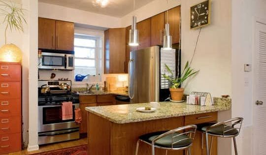 Decoraci n de cocinas para apartamentos peque os dise o - Hogar del mueble ingenio ...