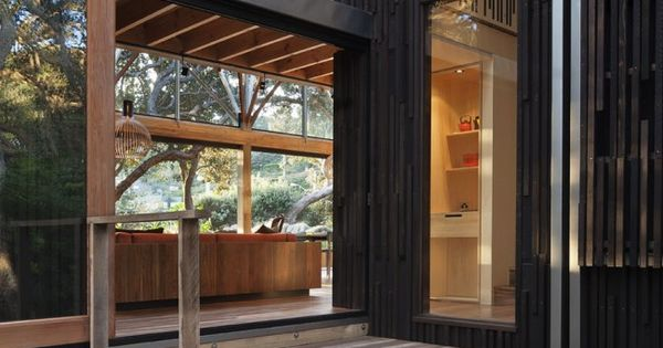 House among the Pohutukawa trees - Herbst Architects, New Zealand Home