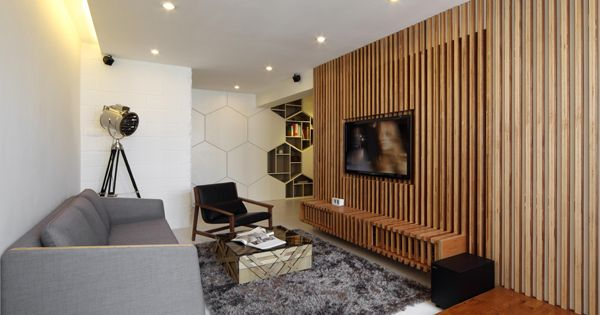 interior vertical wood slats wall Google Search Office