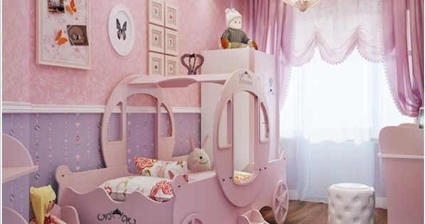 10 Cute Ideas To Decorate A Toddler Girls Room 11