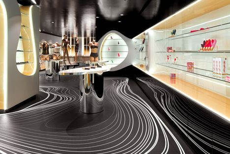 Sex shop chic karim rashid munich and shop interiors for Interior design munich