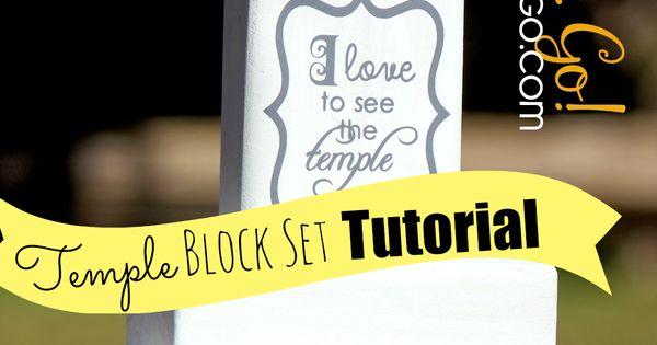 Homemade Temple Block ~ Diy temple block set tutorial the actual cut sizes