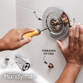 Bathroom Ideas Replace Tub And Shower Faucet Trim Tub And Shower Faucets Shower Faucet Shower Tub