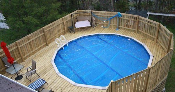 Above Ground Pool Privacy Decks Magnetic Deck Plans Around Above Ground Pools With Wooden