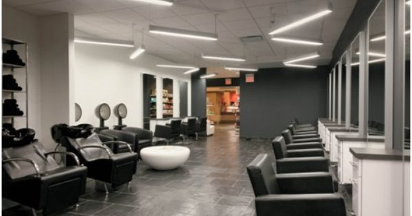 Led Linear Suspended Lighting Allows You To Create Your Own Lighting Patterns Ledlighting Salon Furniture Salon Lighting Lighting Pattern