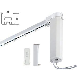 Pin On Top 10 Best Remote Control Curtain Rods In 2020