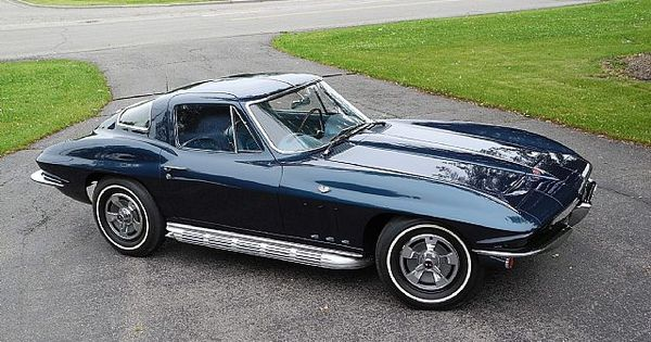 1966 Corvette. This Is A Real Bloomington Gold, NCRS Top