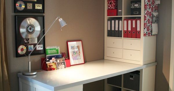 ikea kallax office hack google search home design pinterest b ros arbeitszimmer und. Black Bedroom Furniture Sets. Home Design Ideas