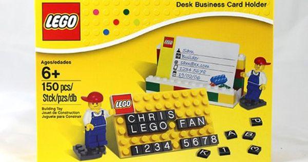 Pin By Cassandra Baker On Gift Ideas Business Card Holders Lego Desk Card Holder