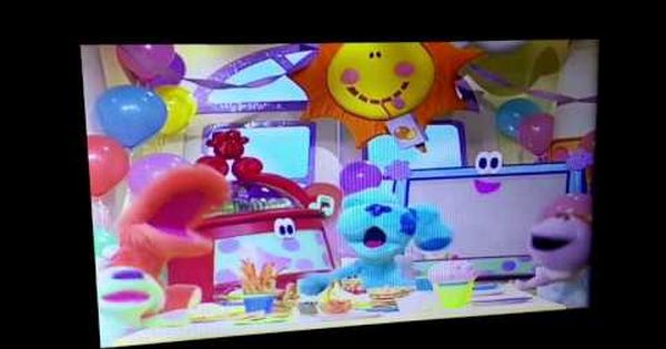 Blue S Room Trailer Dvd Capture Youtube Blues Clues Dvd Blues Clues Christian Movies