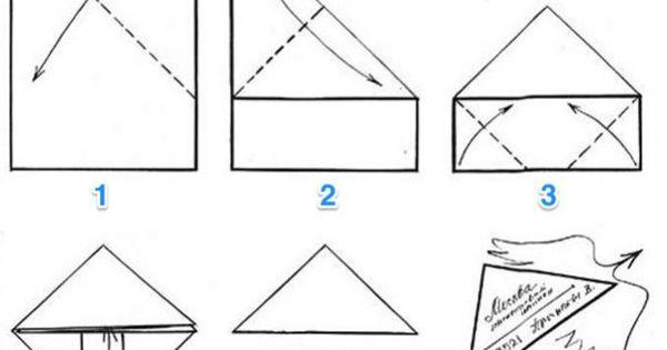 l 39 astuce pour envoyer une lettre sans enveloppe. Black Bedroom Furniture Sets. Home Design Ideas