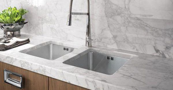 M rmol carrara proyecto sa pinterest cocinas ayudar for Decoraciones de marmol y granito