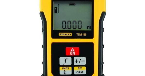 Stanley Telemetre Tlm165 50m Metre Laser Laser Bosch Instrument De Mesure