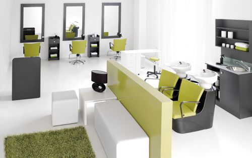 Mobiliario peluqueria peluquer as pinterest salons for Mobiliario de salon