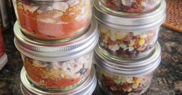 Chef Tess Bakeresse Meals in a jar for food storage
