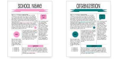 Classroom Newsletter Template Word from i.pinimg.com