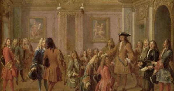 4) So Muss Man Sich Das Königliche Aufstehzeremoniell Im ... Ludwig Xiv Schlafzimmer
