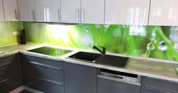 Kuchenruckwande Bei Unseren Kunden Im Einsatz Referenzen Wandpaneele Kuche Glasruckwand Kuche Kuche Ruckwand Glas