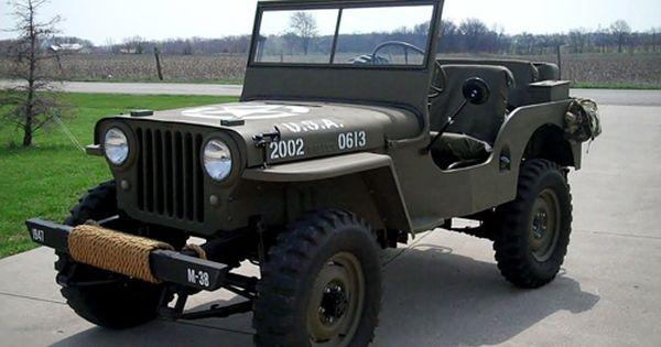 1947 Cj2a Willys Jeep