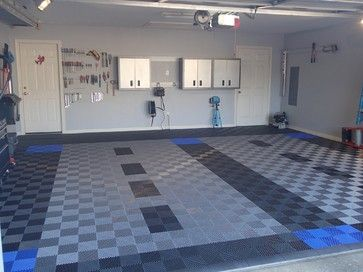 Race Deck Interlocking Tiles Make A Custom Design By Mixing Tile
