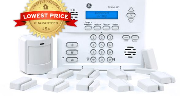 Home Security Systems Alarm Monitoring Protect America Diy Home Security Wireless Home Security Systems Wireless Home Security