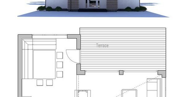 Small house plan with high ceiling and large windows for High ceiling house plans in tamilnadu