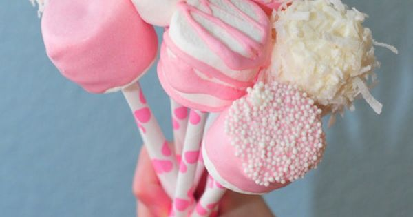 Pastel DIY Valentine Cake Pops, Cute Ideas For Valentine's Day, Birthday Party