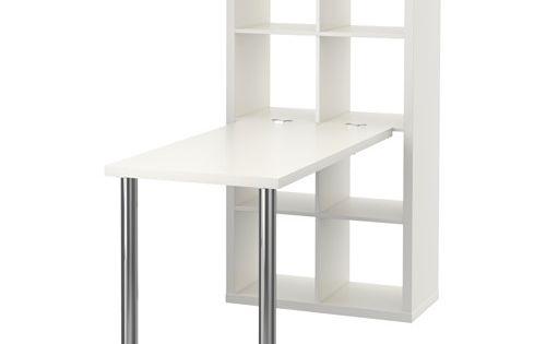 Kallax combinaison bureau blanc chrom bureaux blancs ikea et agencement - Separateur de bureau ikea ...