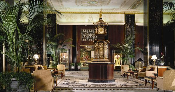Waldorf Astoria Lobby Been There Done That Pinterest