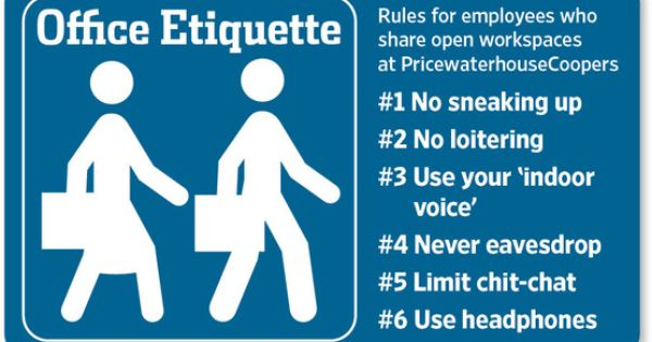 Warming Up To The Officeless Office Office Rules Etiquette Work Etiquette