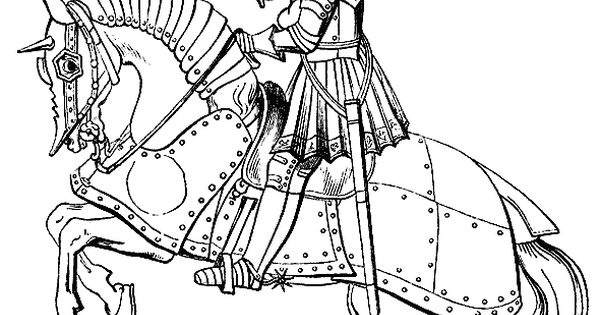 fantasy coloring pages eagles knights - photo#23