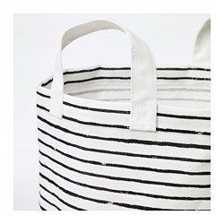 Laundry Bag White Black 16 Gallon Laundry Basket Plastic