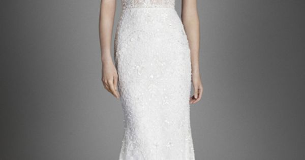 Lazaro Lz3558 Crystal Embroidered Slip Gown V Neck And