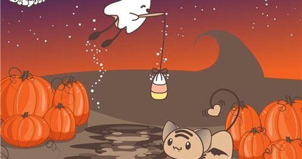 Kawaii Free Halloween Wallpapers Halloween Wallpaper Halloween Desktop Wallpaper Free Halloween Wallpaper