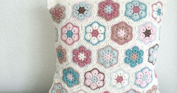 Cr ation housse de coussin en crochet linge de maison for Assouplissant linge fait maison