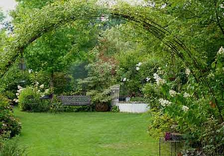 Jpeg 24 9 kb beautiful garden pinterest pergolas - Tonnelle de jardin en fer forge ...